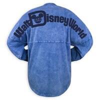 Image of Walt Disney World Mineral Wash Spirit Jersey for Adults - Blue # 2
