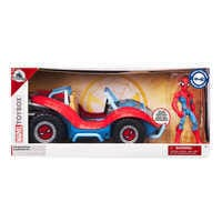 Image of Spider-Man with Spider-Mobile Playset - Marvel Toybox # 3
