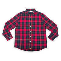 Image of Snow White Flannel Shirt for Adults by Cakeworthy # 2