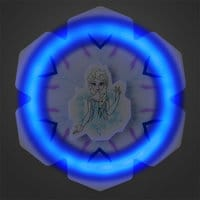 Image of Elsa Light-Up Fidget Spinner # 2