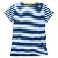 Image of Fantasyland Castle Striped T-Shirt for Women # 4