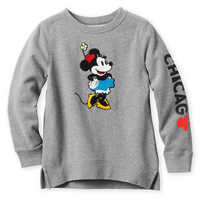 Image of Minnie Mouse Sweatshirt for Girls - Chicago # 1