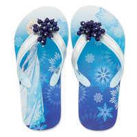 Image of Elsa Flip Flops for Kids - Frozen # 2