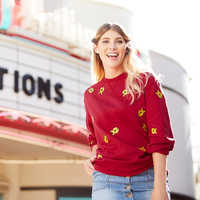 Image of Winnie the Pooh Pullover Sweater for Adults # 2