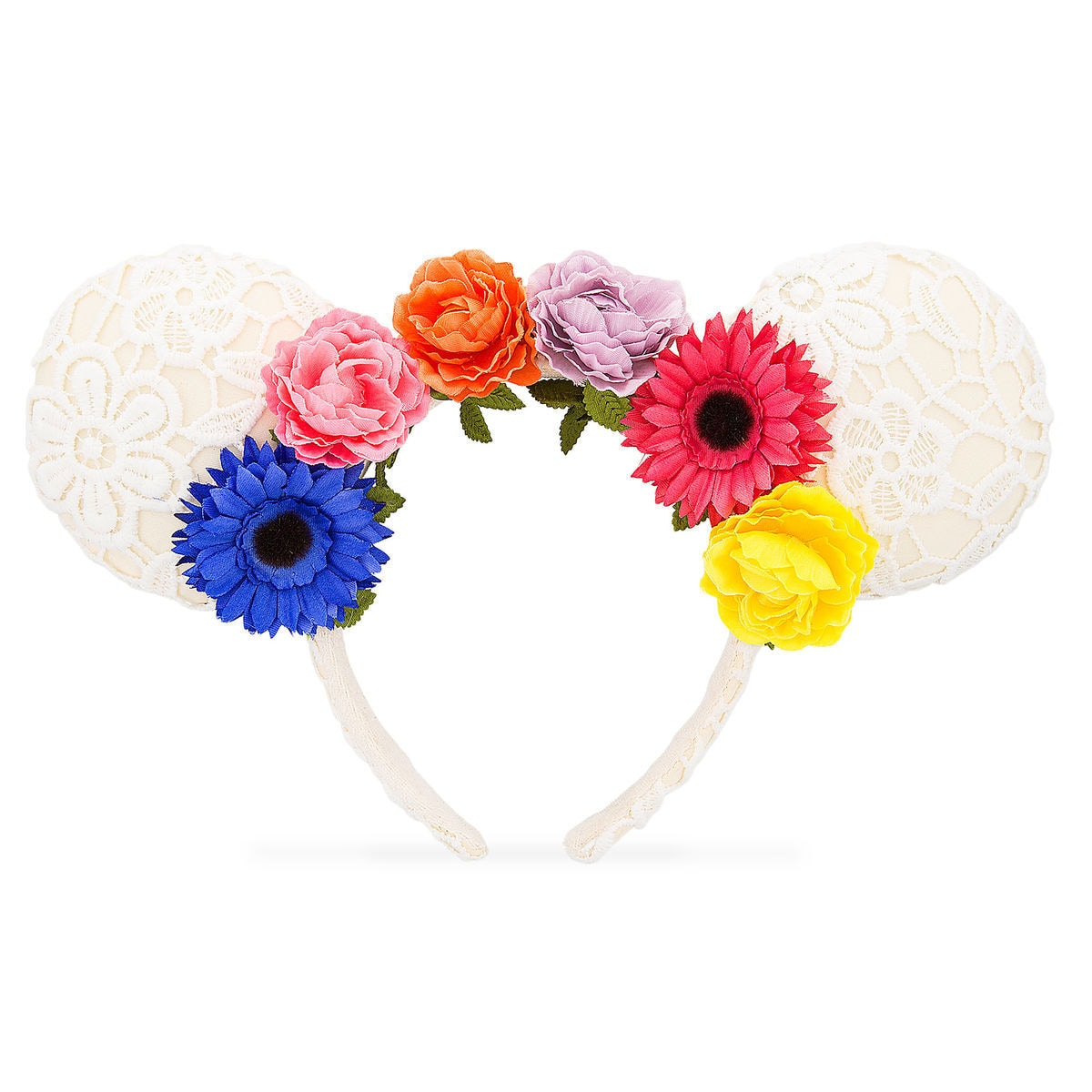 Minnie Mouse Floral Ears Headband Shopdisney
