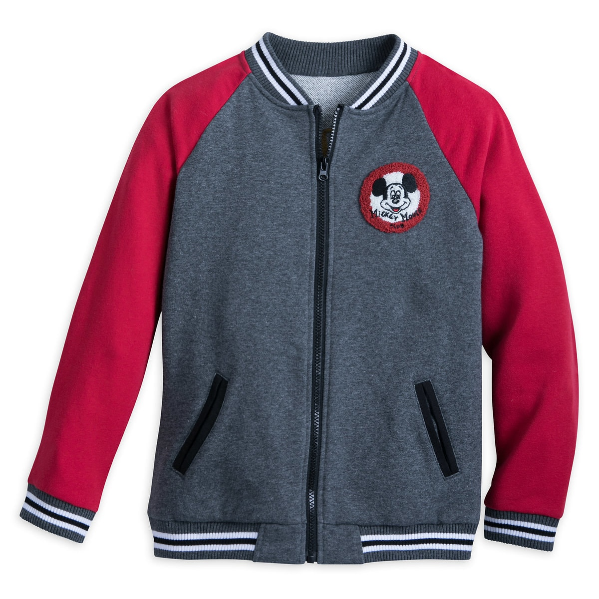 13785d032 Product Image of The Mickey Mouse Club Varsity Jacket for Boys # 1