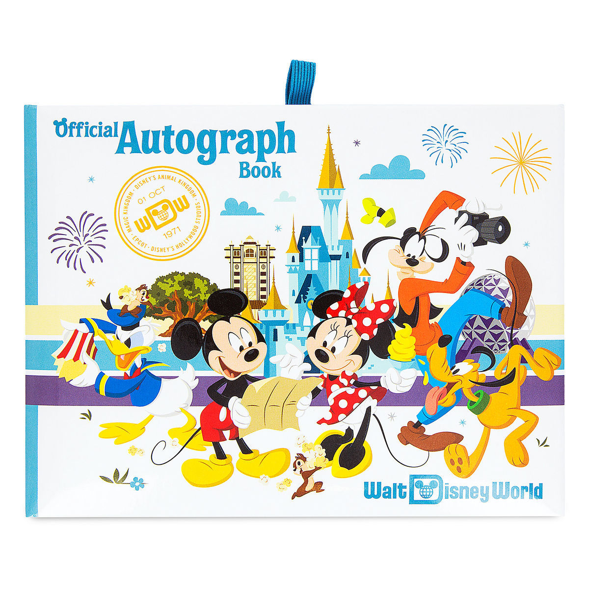 Product Image of Mickey Mouse and Friends Autograph Book - Walt Disney World # 1
