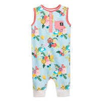 Image of Alice in Wonderland Tank Romper for Baby and Toddler by RAGS # 1