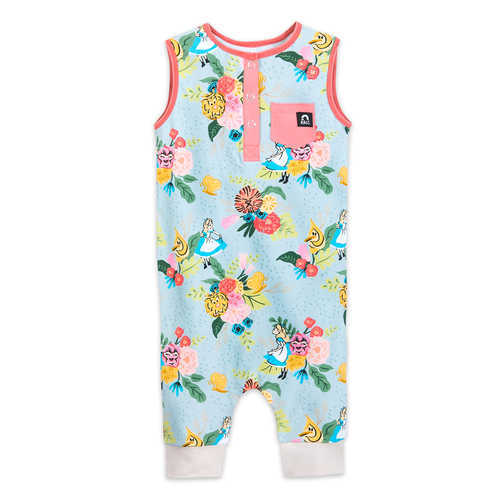 Disney Alice in Wonderland Tank Romper for Baby and Toddler by RAGS