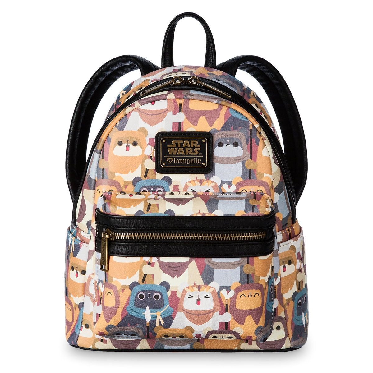 Product Image of Ewok Mini Backpack by Loungefly - Star Wars   1 ce3ac70624e93