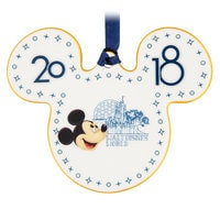 Image of Mickey Mouse Ceramic Ornament 2018 - Walt Disney World # 1