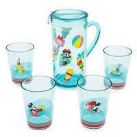 Image of Mickey Mouse and Friends Pitcher Set - Disney Eats # 1