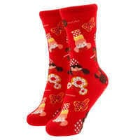 Image of Minnie Mouse Disney Parks Food Icon Cupcake Socks for Kids # 1