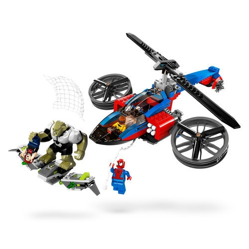 Spider-Helicopter Rescue Playset by LEGO ? Ultimate Spider-Man