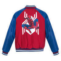 Image of Spider-Man Varsity Jacket for Boys # 3