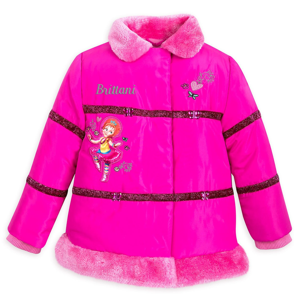 Product Image of Fancy Nancy Puffy Jacket for Kids - Personalizable # 1