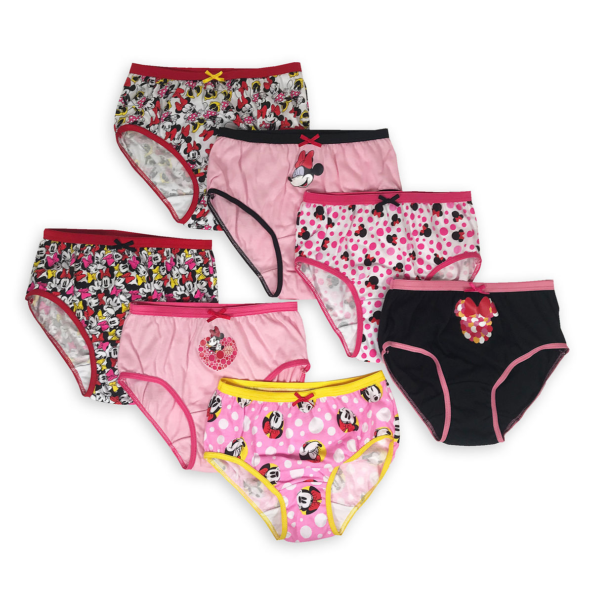 382e0038cdb6f Product Image of Minnie Mouse Underwear Set for Girls - 7-Pk   1