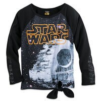 Death Star Tie-Front Pullover Top - Women - Star Wars Boutique