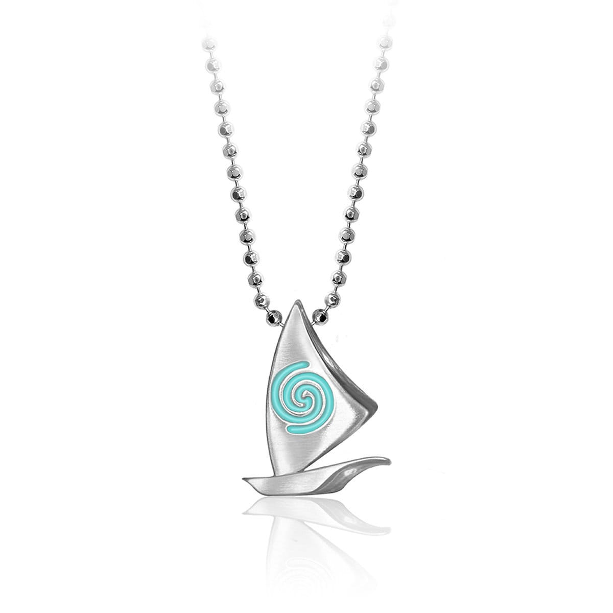 website sterling necklace shipping image free worldwide product silver hilaryandjune triangle of trianglenecklace