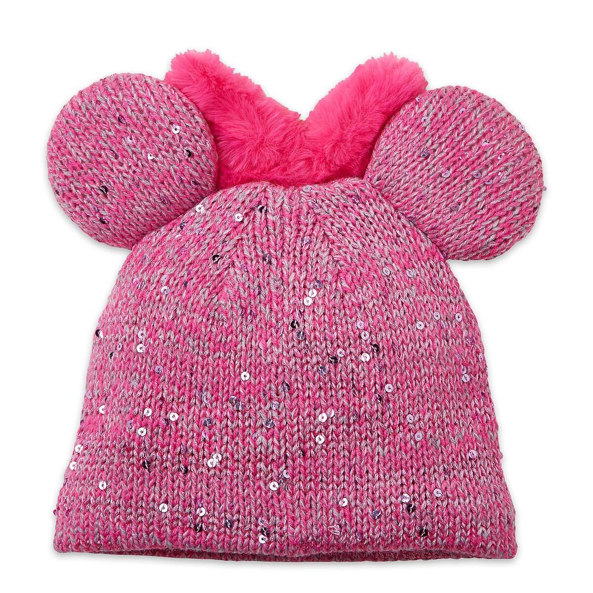 22da9f691f9 Minnie Mouse Knit Hat for Kids