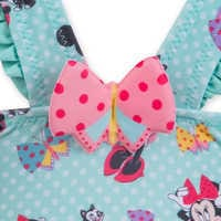 Image of Minnie Mouse and Figaro Swimsuit for Girls # 5