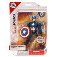 Image of Captain America Action Figure - Marvel Toybox # 4