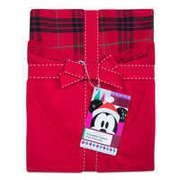 Image of Minnie Mouse Holiday Plaid PJ Set for Women - Personalizable # 4