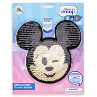 Image of Mickey Mouse Emoji Sequin Sticker Patch # 2