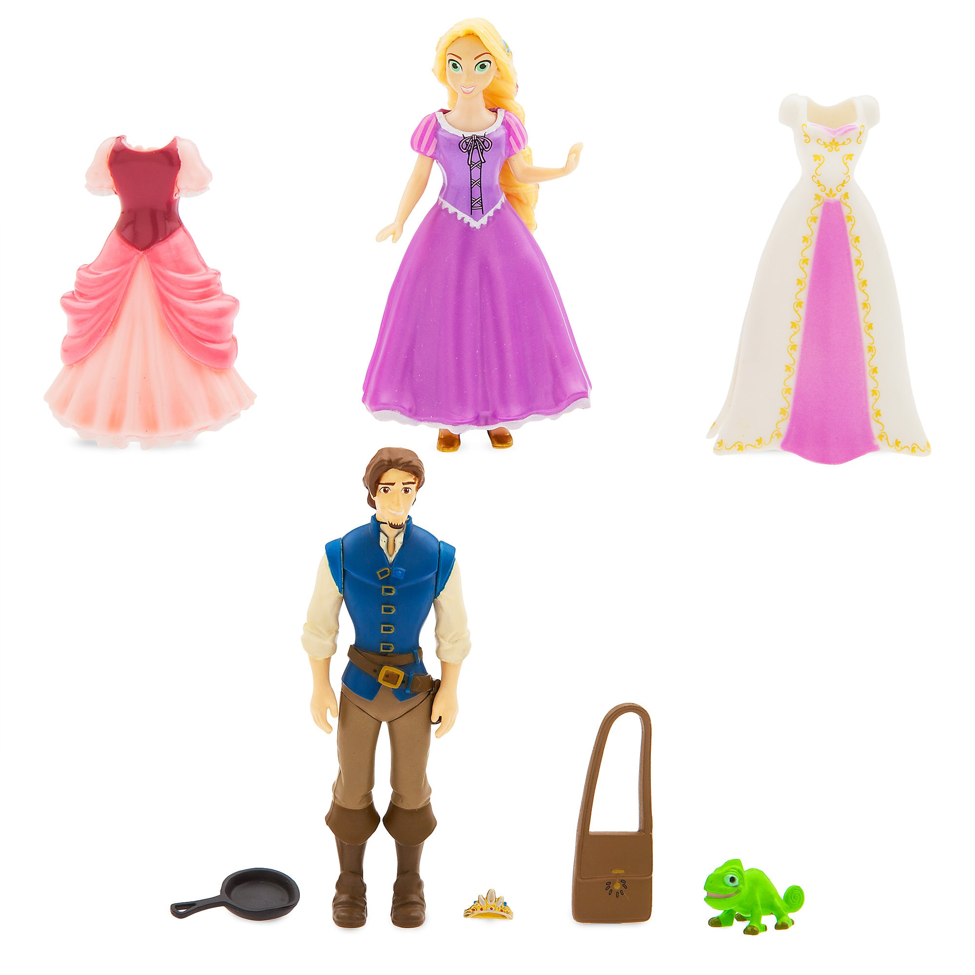 Rapunzel Dress Up Figure Set