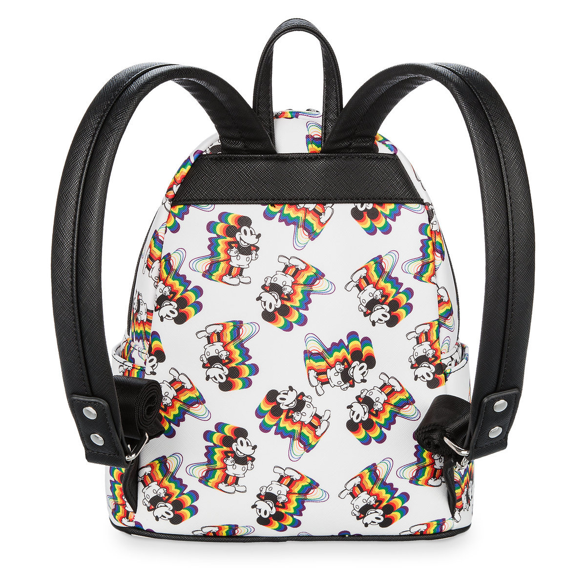 a2a2b726b83 Mickey Mouse Rainbow Mini Backpack by Loungefly