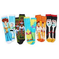 Image of Toy Story 4 Sock Set for Adults - 5 Pack # 1