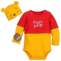 Image of Winnie the Pooh Costume Bodysuit Set for Baby # 1