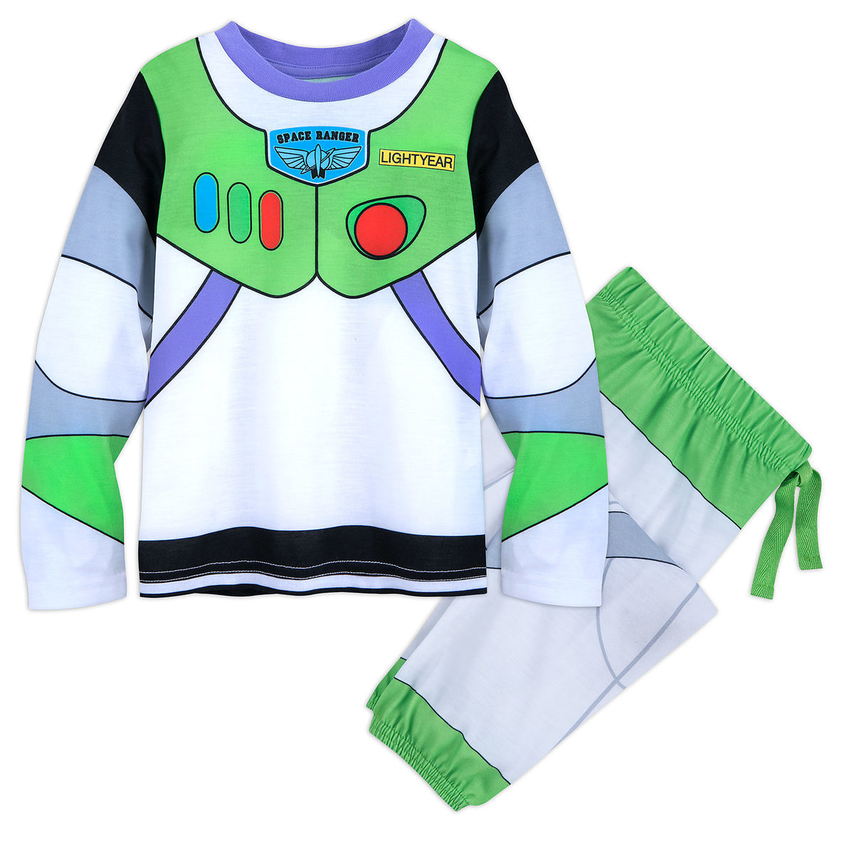 886069c23d Product Image of Buzz Lightyear Deluxe Costume PJ Set for Boys   1