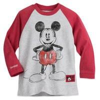 Mickey Mouse Two-Sided Raglan T-Shirt - Disneyland - Boys