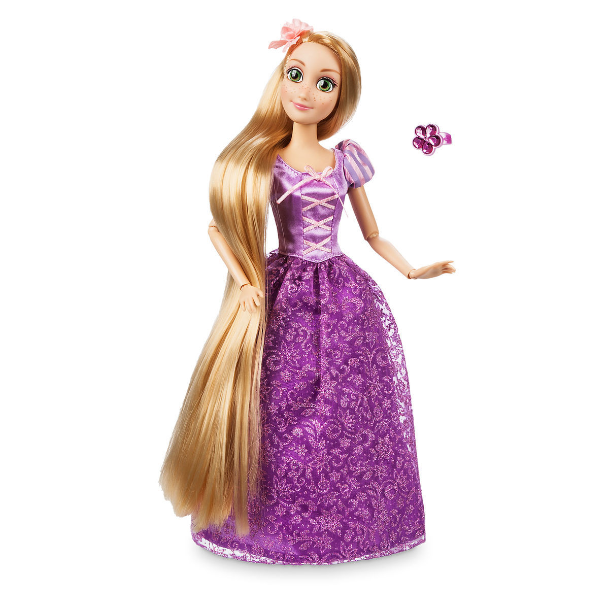 Product Image of Rapunzel Classic Doll with Ring - Tangled - 11 1/2'' # 1