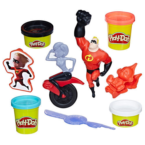 Incredibles 2 Incredible Tools Play-Doh Set