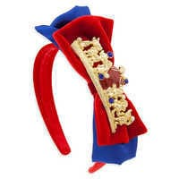 Image of Snow White Headband with Bow for Kids # 1