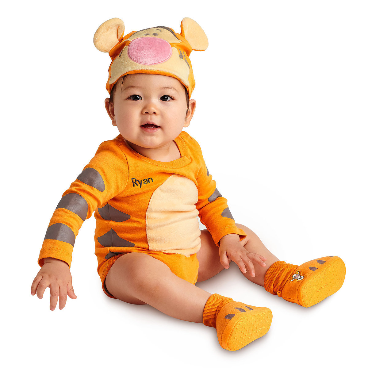 ab21546ed Product Image of Tigger Costume Bodysuit Set for Baby - Personalizable # 2
