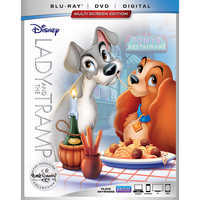 Image of Lady and the Tramp Blu-ray Combo Pack # 1