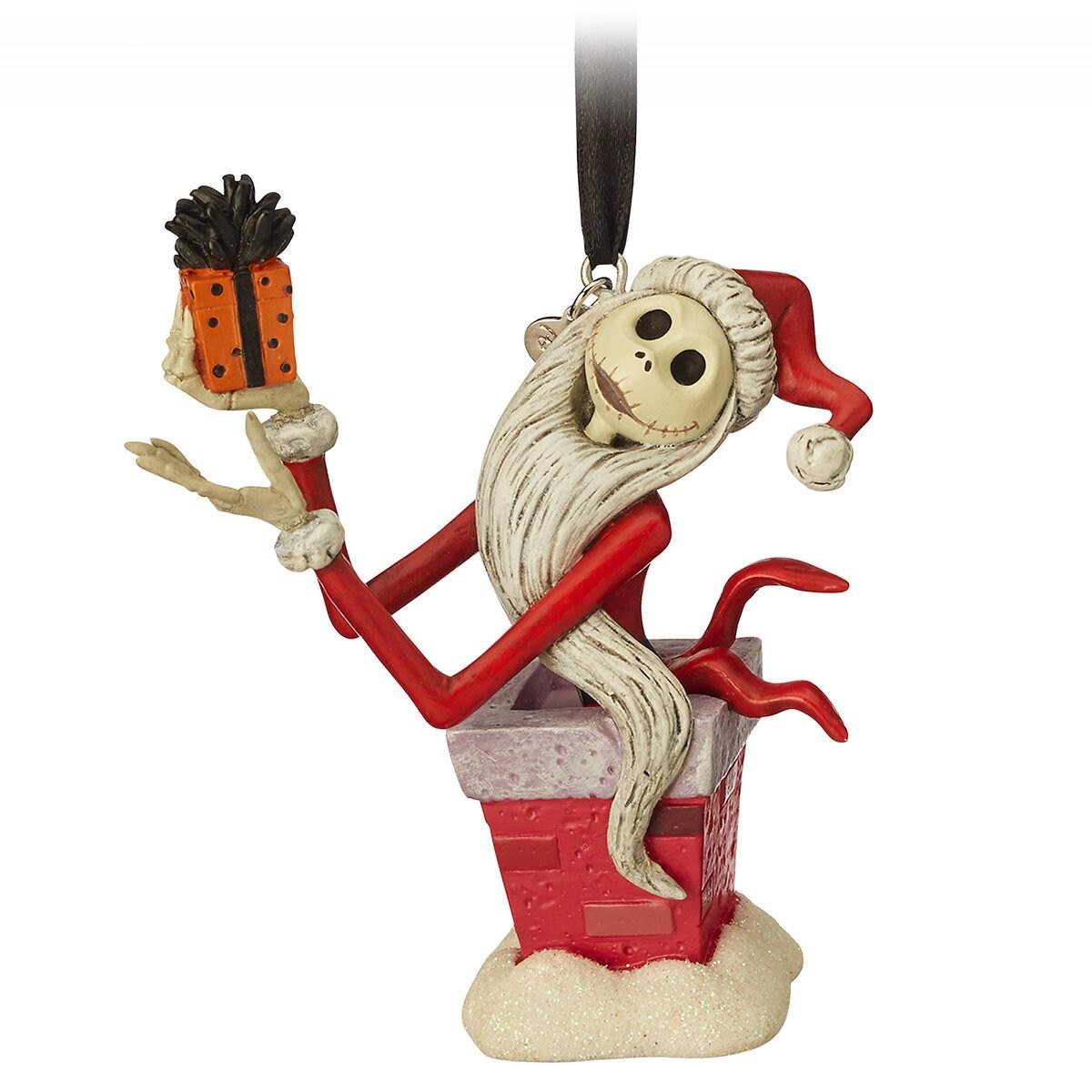 Jack Skellington Sketchbook Ornament - Tim Burton\'s The Nightmare ...