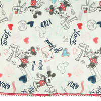 Image of Mickey and Minnie Mouse Sweethearts Scarf # 2