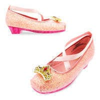 Image of Aurora Costume Shoes for Kids - Sleeping Beauty # 1