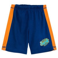 Image of Mickey Mouse and Pluto ''Surf'' Shorts Sleep Set for Boys # 3