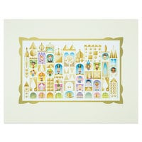 ''it's a small world'' ''The Happiest Cruise'' Deluxe Print by Jerrod Maruyama