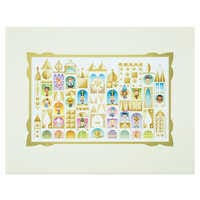 Image of ''it's a small world'' ''The Happiest Cruise'' Deluxe Print by Jerrod Maruyama # 1