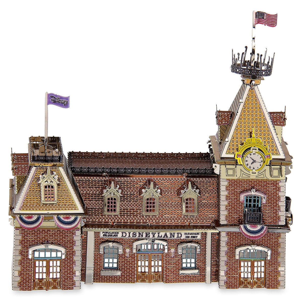 384345ff8a2 Product Image of Disneyland Main Street Station Metal Earth 3D Model Kit   1
