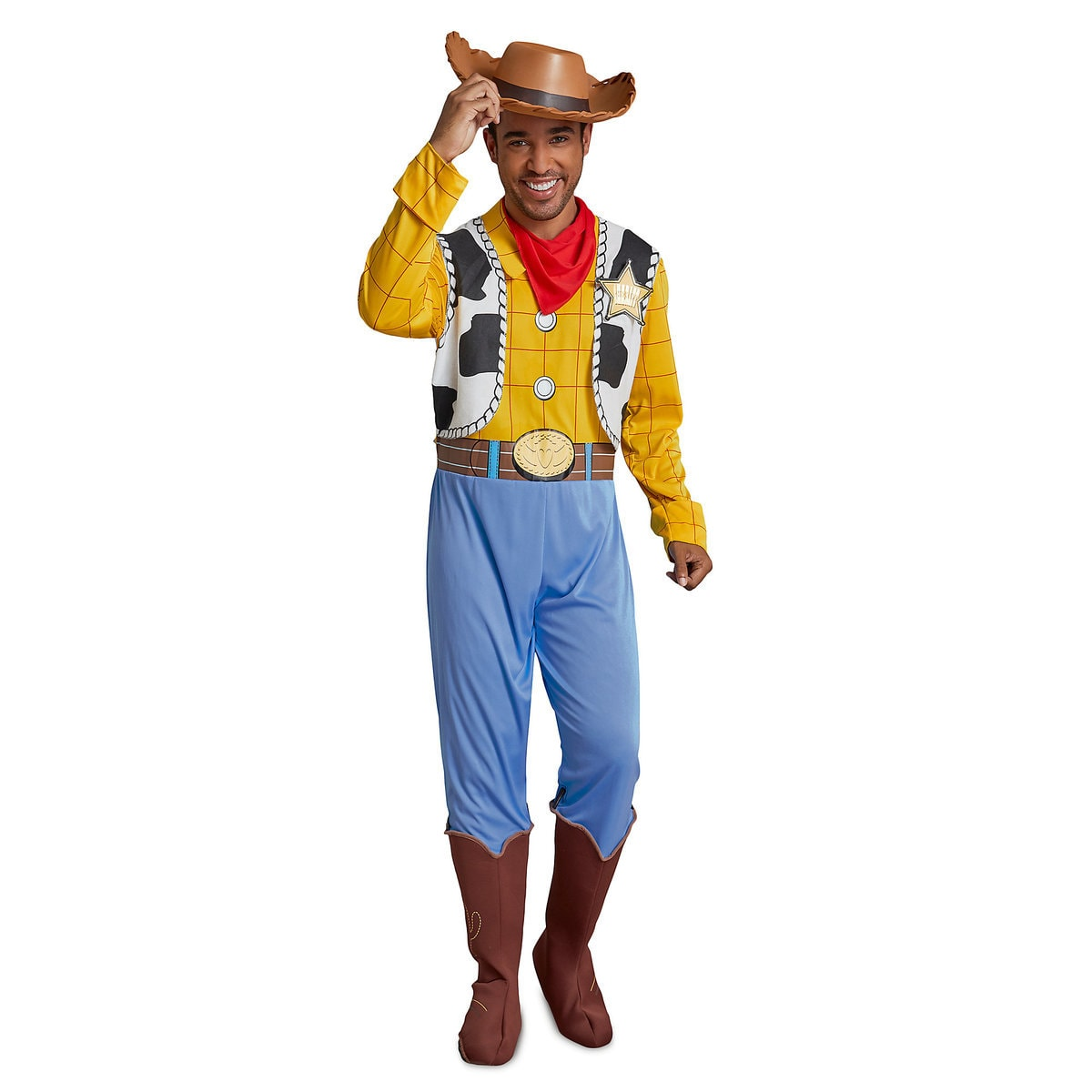 woody deluxe costume for adultsdisguise | shopdisney