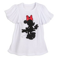Minnie Mouse Silhouette Top for Women