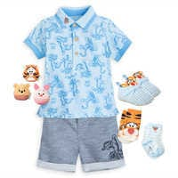 Image of Tigger and Friends Shirt and Shorts Collection for Baby # 1