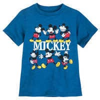 Image of Mickey Mouse Multi-Pose T-Shirt for Boys # 1